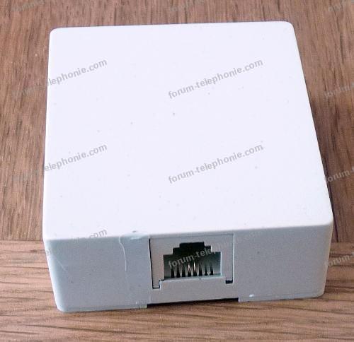 adaptateur telephone box