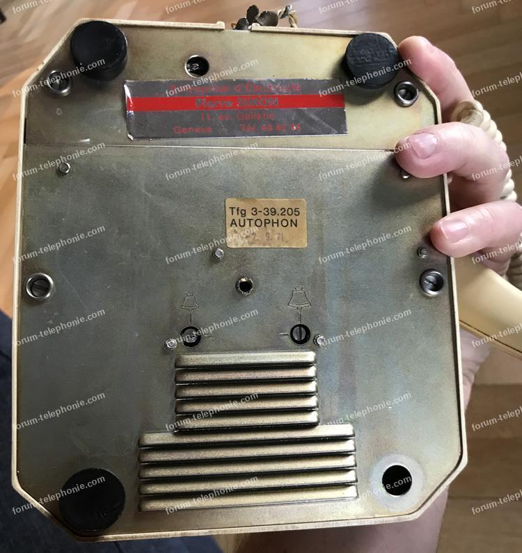 adapter téléphone des années 70 sur une box