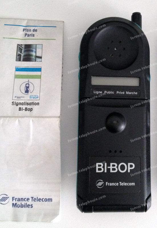 vente Bi-bop de France Telecom
