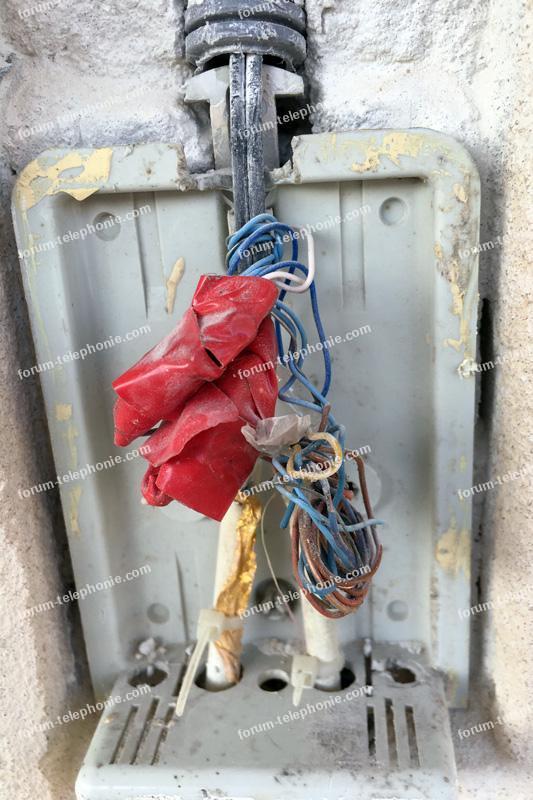câblage ligne téléphonique