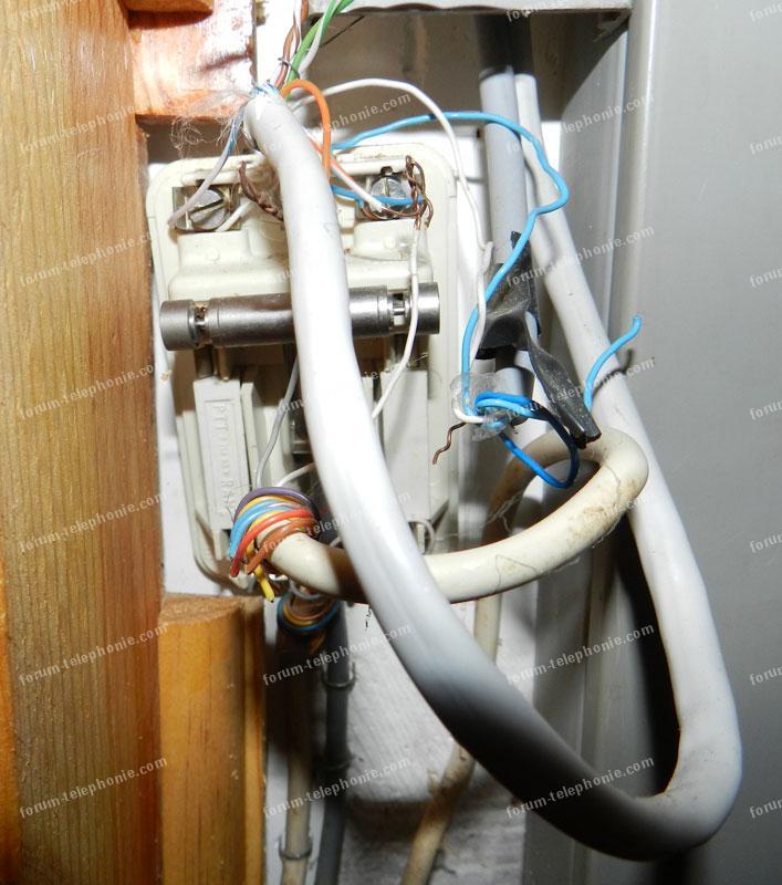 problème câblage téléphonique