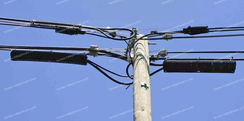 réparation câbles téléphone