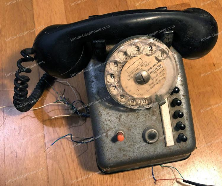 téléphone à cadran Telic